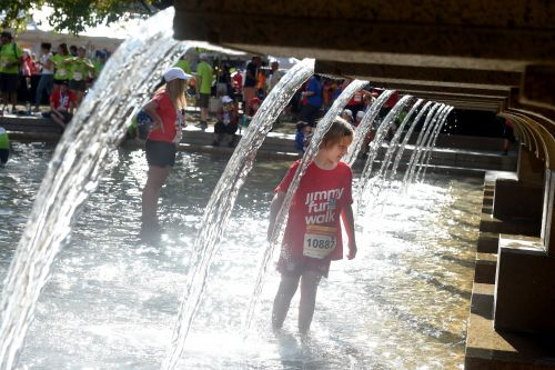 Thousands Turn Out For The Annual Jimmy Fund Walk