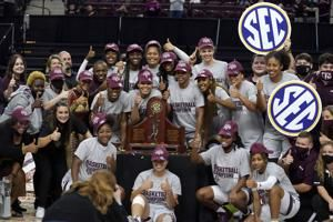 Aggies reach best-ever ranking of No. 2 in women's AP Top 25