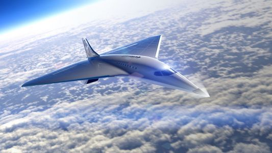 Virgin Galactic just revealed a new supersonic passenger jet it planned with Rolls Royce, which used to make Concorde jet engines