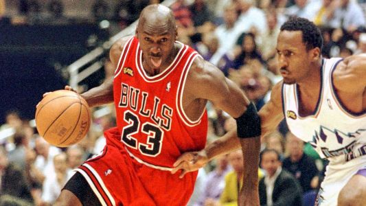 ESPN is airing its Michael Jordan documentary series early to help fill the void of live sports