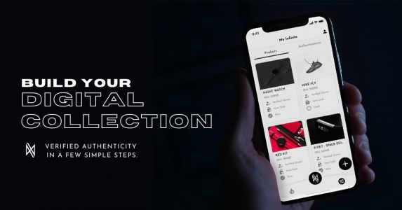 The Infinite app uses NFTs to power sneaker authentication. Now it's launching a marketplace to buy and sell purely digital kicks