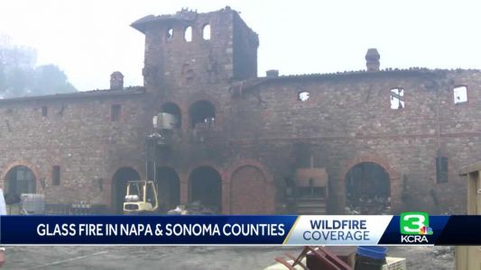 'Worst by far': Glass Fire destroys areas of Napa County