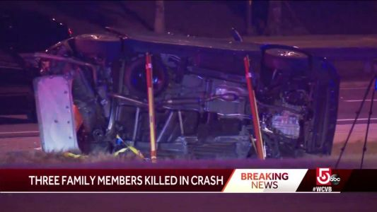 5-year-old girl, her mother, grandmother killed in crash near Disney