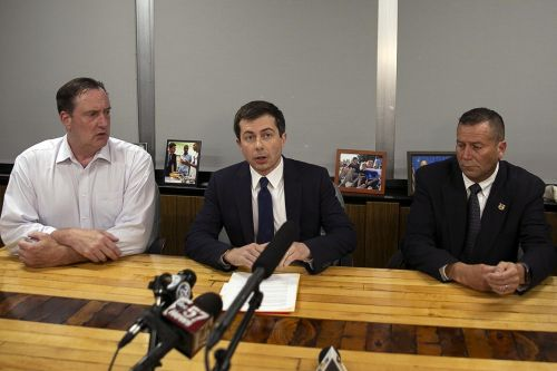 Pete Buttigieg talks of need to 'reinforce trust' after officer-involved shooting