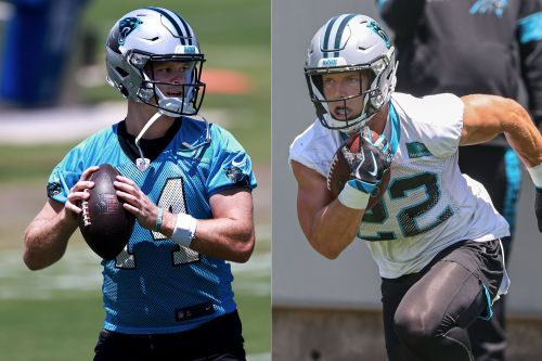 Sam Darnold 'dialed in' with Panthers: Christian McCaffrey