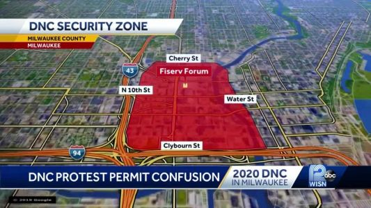 Wisconsin group demands permit to protest at DNC