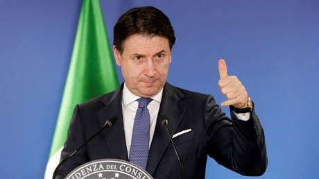 Italy's Giuseppe Conte steps down as PM but hopes to return to power with new coalition govt