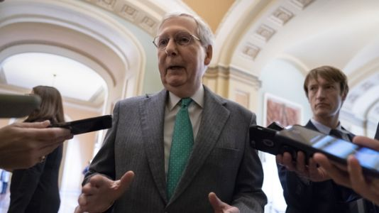 Senate Sends Short-Term Funding Measure To President Hours Before Government Shutdown