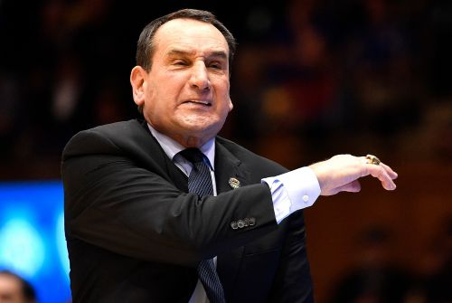 Duke's Mike Krzyzewski yells at Cameron Crazies for Jeff Capel chant