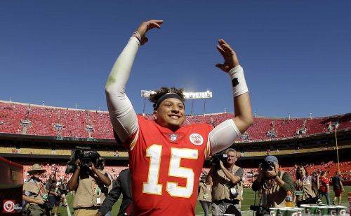 Patrick Mahomes named one of Forbes magazine's '30 Under 30' sports honorees