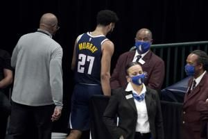Nuggets' Murray fined $25,000 for striking Hardaway's groin