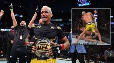 Comeback king Oliveira crowned lightweight champion after stopping Chandler in incredible reversal at UFC 262