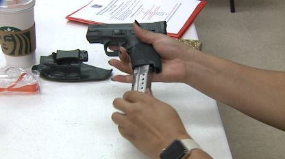 Gun safety session working to reduce Louisville's growing crime rate by teaching responsibility