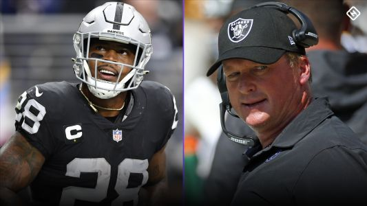 Josh Jacobs describes Raiders sideline without Jon Gruden: 'It was like anxiety'