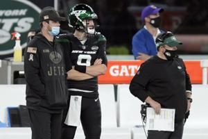 Gase says Darnold to start for Jets vs Dolphins on Sunday