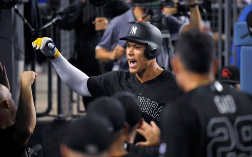 Aaron Judge starting to display his prodigious power again