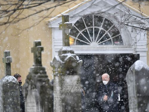 Biden is spending a huge amount of time at church so far during his presidency