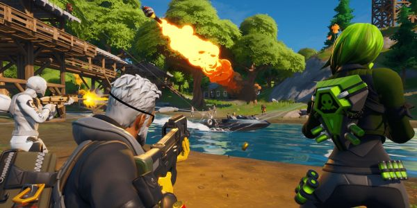 Fortnite is back with 'Chapter 2' and a new map and new features after its extravagant black hole stunt
