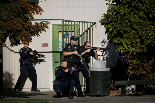 California teen opens fire outside high school, then shows up to class