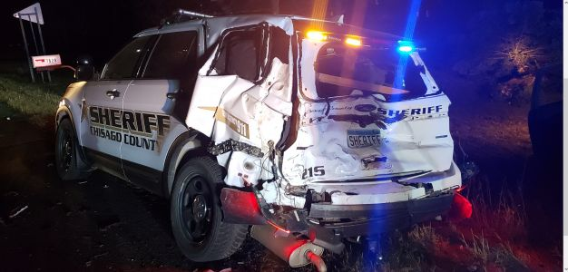Chisago County Squad Scar Struck By Pick-Up Truck
