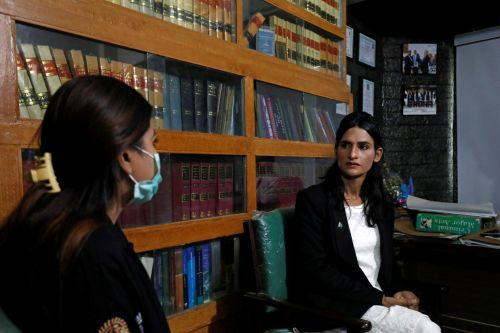 Pakistan's first transgender lawyer goes from begging to fighting in court