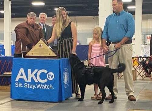 Greenville Kennel Club dedicates dog show to late Sgt. Jumper