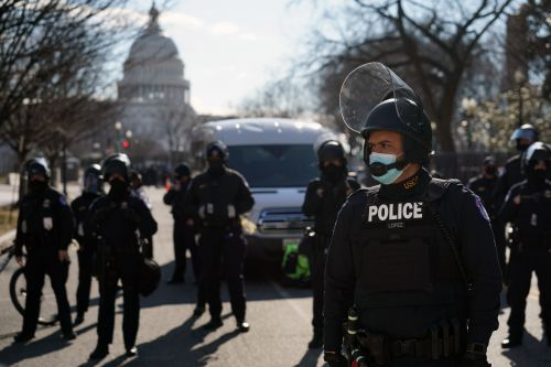 COVID-19 cases spike among first responders following Capitol riot