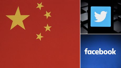 China accuses Twitter & Facebook of censorship over Hong Kong protest criticism