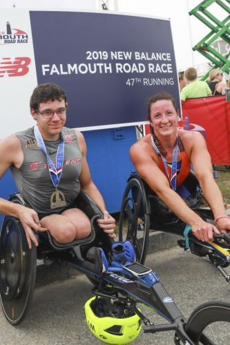 Another sizzling edition of Falmouth Road Race in books