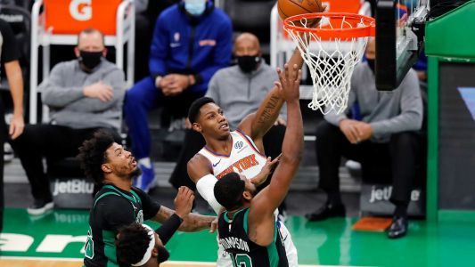 Celtics routed by Knicks in Kemba Walker's return to court