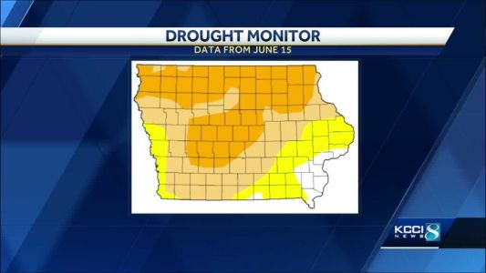 US Drought Monitor shows Iowa conditions worsening dramatically