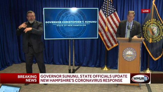 Full video: Governor holds latest COVID-19 briefing for New Hampshire