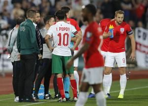 President of Bulgarian soccer resigns after fan racism, loss