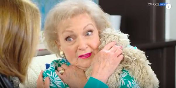 Betty White says the secret to her living long is vodka and hot dogs