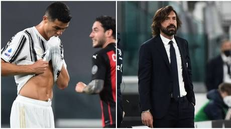 'Finished player': Cristiano Ronaldo mocked for potential Europa League fate as Pirlo on brink after AC Milan thrashing
