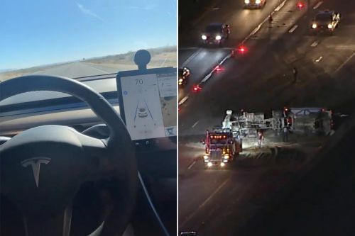 Tesla driver killed in crash posted videos driving without his hands on the wheel