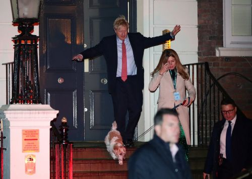 Boris Johnson partied with Mick Jagger, bear-hugged David Cameron, and broke his self-imposed alcohol ban after winning the election