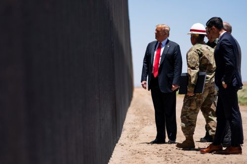 Trump on private border wall segment: 'It was only done to make me look bad'