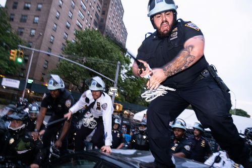NYPD facing lawsuit over tactics during George Floyd protests