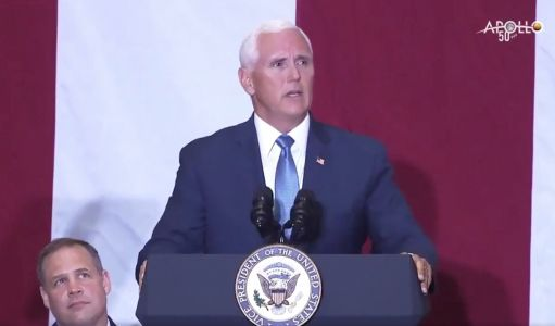 Apollo 11 'Will Be Remembered Forever,' Vice President Pence Says
