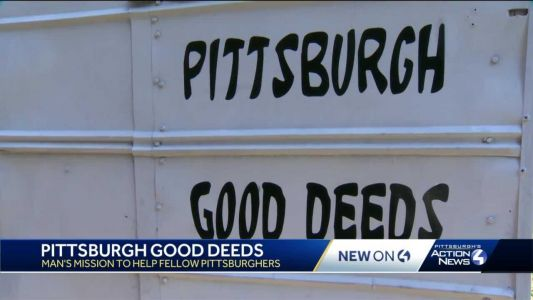 Pittsburgh Good Deeds: Man's mission to help fellow Pittsburghers