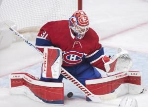 Canadiens' Carey Price placed in concussion protocol, out at least a week