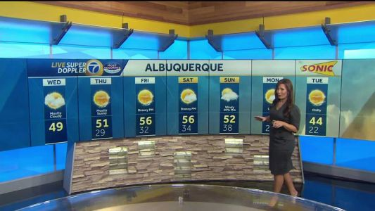 Partly to mostly cloudy today