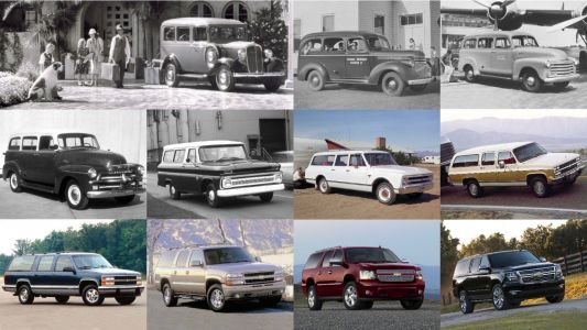 The redesigned Chevy Suburban was just unveiled - here's a closer look at this 85-year-old icon