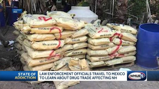 Law enforcement officials travel to Mexico to learn about drug trade