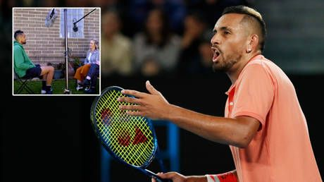 'I've been through a LOT': Kyrgios calls tennis a 'nice WHITE gentleman's sport' as he claims 'colored' players face racism