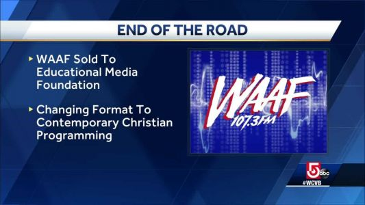 Boston radio station WAAF sold, changing to Christian format