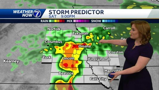 Cloudy and windy afternoon, strong to severe storms tonight