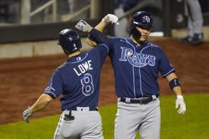 Rays beat Mets 8-5, clinch 1st AL East title in 10 years