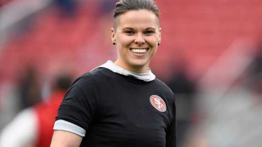 49ers' Katie Sowers makes history, will be the first female to coach at the Super Bowl